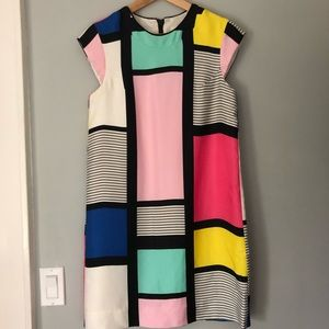 Kate Spade Mondrian Shift Dress
